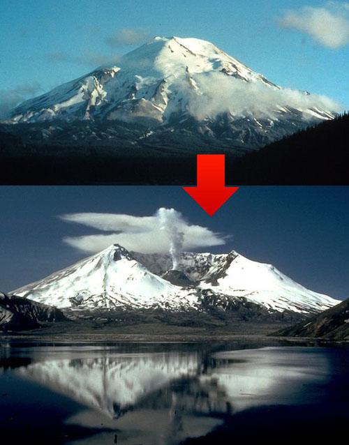 山体崩壊を繰り返してきた富士山