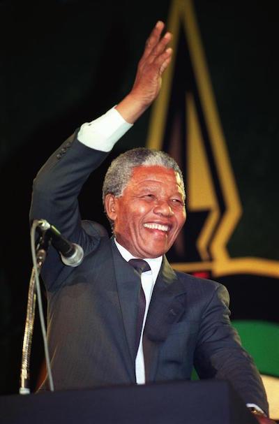 ネルソン・マンデラ元南アフリカ大統領
