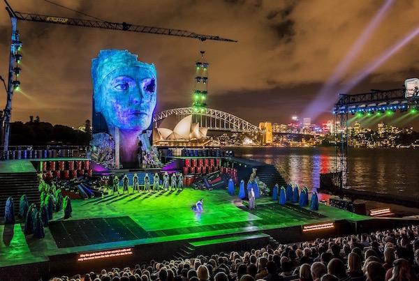 2015「ハンダオペラ・オン・シドニー・ハーバー」は、アイーダを上演