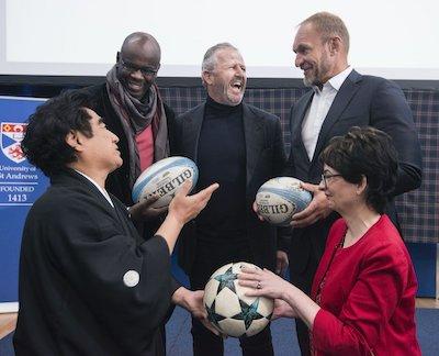 ラグビーと国際スポーツ振興協会の活動