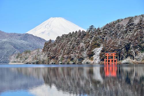 富士と箱根神社