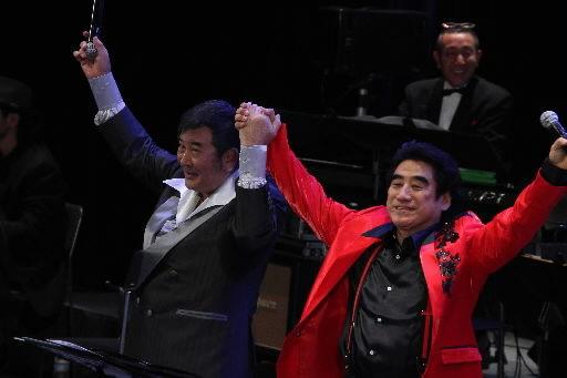 深見東州・小林旭の進撃の阪神 巨人演歌コンサート、盛り上がりました