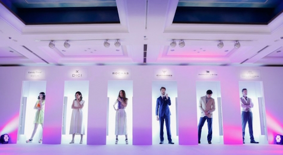 株式会社ミスズ  (代表 : 半田晴久) による6つの世界的ブランドの日本上陸ローンチパーティ
