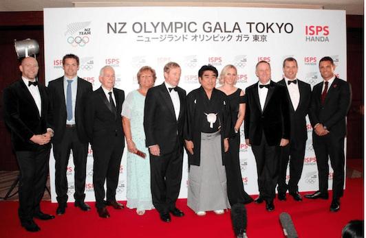 国際スポーツ振興協会とNZオリンピック委員会主催のガラディナーはゴージャスに、多彩なゲストが集結