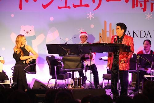 2018 クリスマス絵画コンサート・ジュエリー・時計展示会!!に来日したゲスト