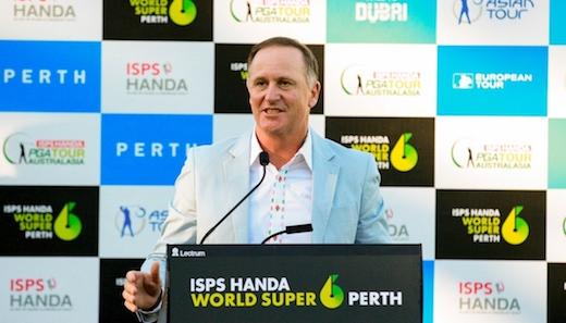 前ニュージーランド首相のジョン・キー氏がWSD、ISPSのペイトロン、アンバサダーに就任